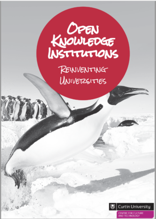 Open Knowledge Institutions book cover